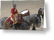 The Kettledrums Of Household Cavalry Greeting Card