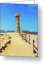 The Lighthouse In Salinas, Ecuador Greeting Card