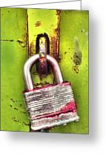 The Lock Greeting Card