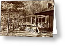 The Lodge Greeting Card
