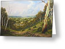 The Lost Sheep In The Scrub Greeting Card