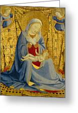 The Madonna Of Humility Greeting Card
