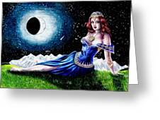 The Moon Witch Greeting Card