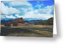 The Moulton Barn Greeting Card