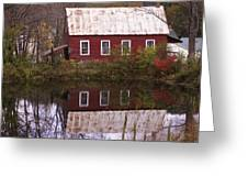 The Old Mill House Greeting Card