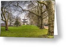 The Pagoda Battersea Park London Greeting Card