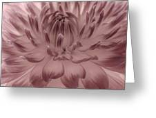 The Painted Flower Greeting Card
