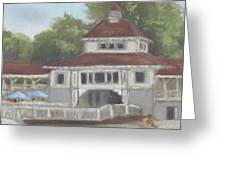 The Pavilion At Lakeside Ohio Greeting Card