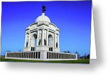 The Pennsylvania Monument Greeting Card