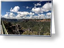 The Pulpit Rock Lookout Greeting Card