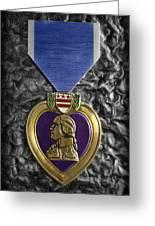 The Purple Heart  Greeting Card