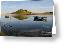 The River Aln Greeting Card