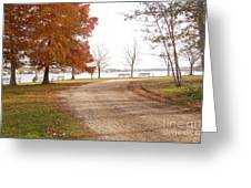 The Road Untraveled Greeting Card