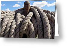 The Ropes Greeting Card