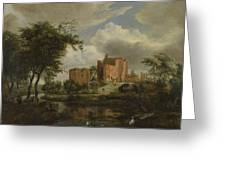 The Ruins Of Brederode Castle Greeting Card