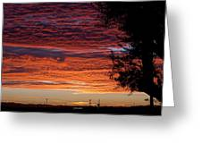 The Shortest Day Sunrise Greeting Card