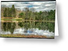 The Spring Pond Greeting Card