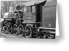 The Steam Engine  Greeting Card
