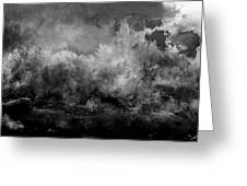 The Storm Greeting Card by Wolfgang Schweizer