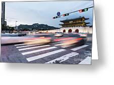 The Streets Of Seoul, South Korea Greeting Card