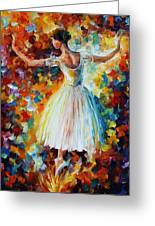 The Symphony Of Dance Greeting Card