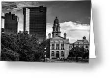 The Tarrant County Courthouse Greeting Card