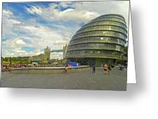 The Towers Of London Greeting Card