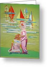 The Toy Regatta Greeting Card