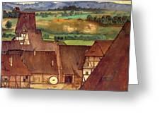 The Trefilerada On Peignitz  Greeting Card