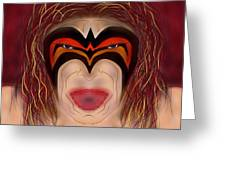 The Ultimate Warrior  Greeting Card