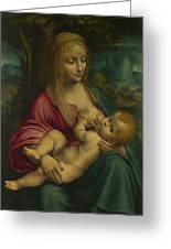 The Virgin And Child Greeting Card