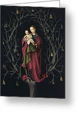 The Virgin Of The Dry Tree Greeting Card