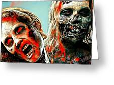 The Walking Dead Greeting Card