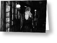 The Wizard Greeting Card