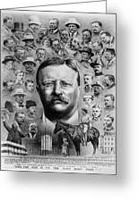Theodore Roosevelt Greeting Card by Granger