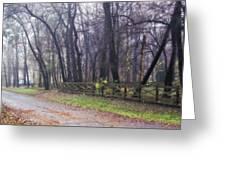 Thomas Road Greeting Card