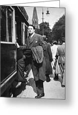 Thomas Wolfe (1900-1938) Greeting Card by Granger