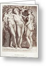 Three Graces Greeting Card