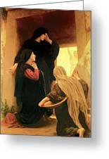 Three Marys At The Tomb Greeting Card
