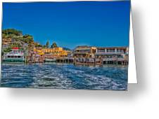 Tiburon Waterfront Greeting Card