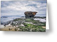 Tides Of Flowing Time Greeting Card
