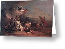 Tiepolo The Rape Of Europa Giovanni Battista Tiepolo Greeting Card