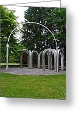 Toledo Botanical Garden Arches Greeting Card