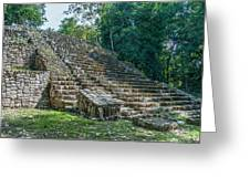 Tombs At Oxtankah Greeting Card