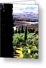 Toscana Quilt Greeting Card