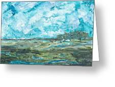 Toward Pinckney Island Greeting Card