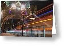 Tower Bridge 2 Greeting Card