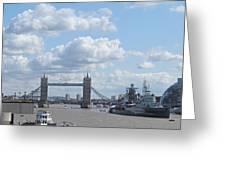 Tower Bridge.  Greeting Card
