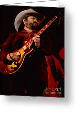 Toy Caldwell Of Themarshall Tucker Band At The Cow Palace Greeting Card