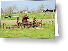 Tractor 005 Greeting Card